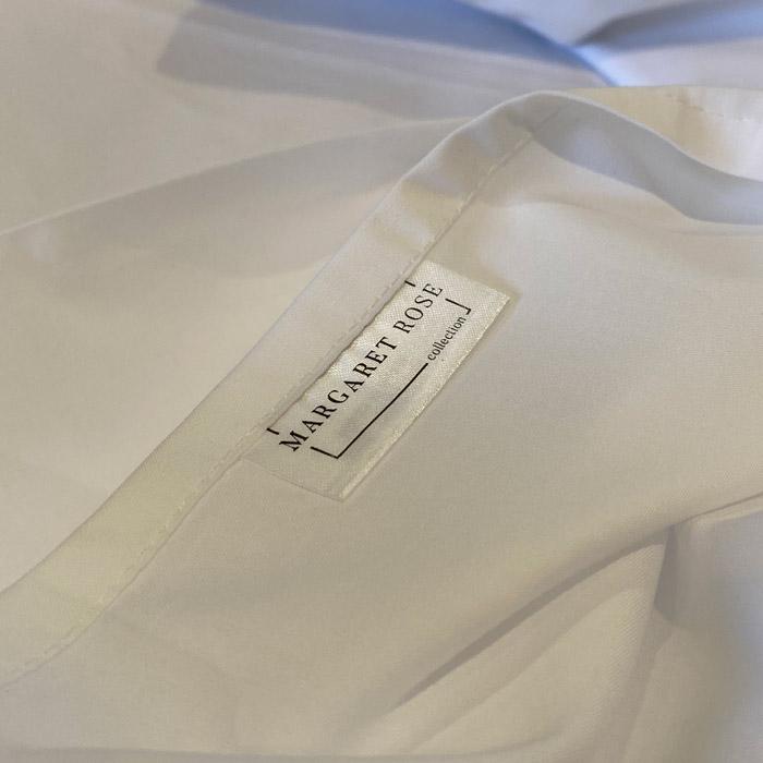 logo on linen